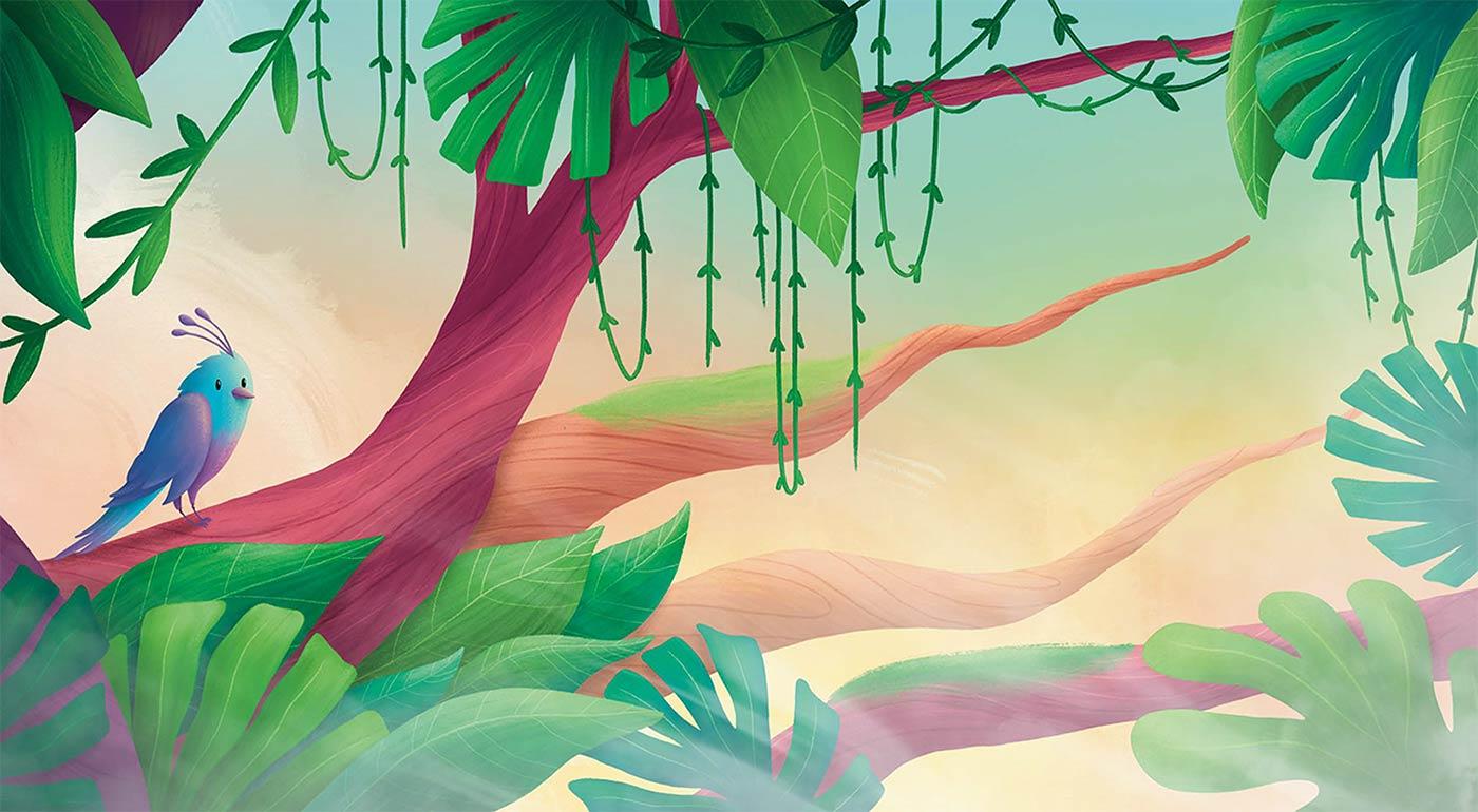 Sophie Kent Bird In Tree