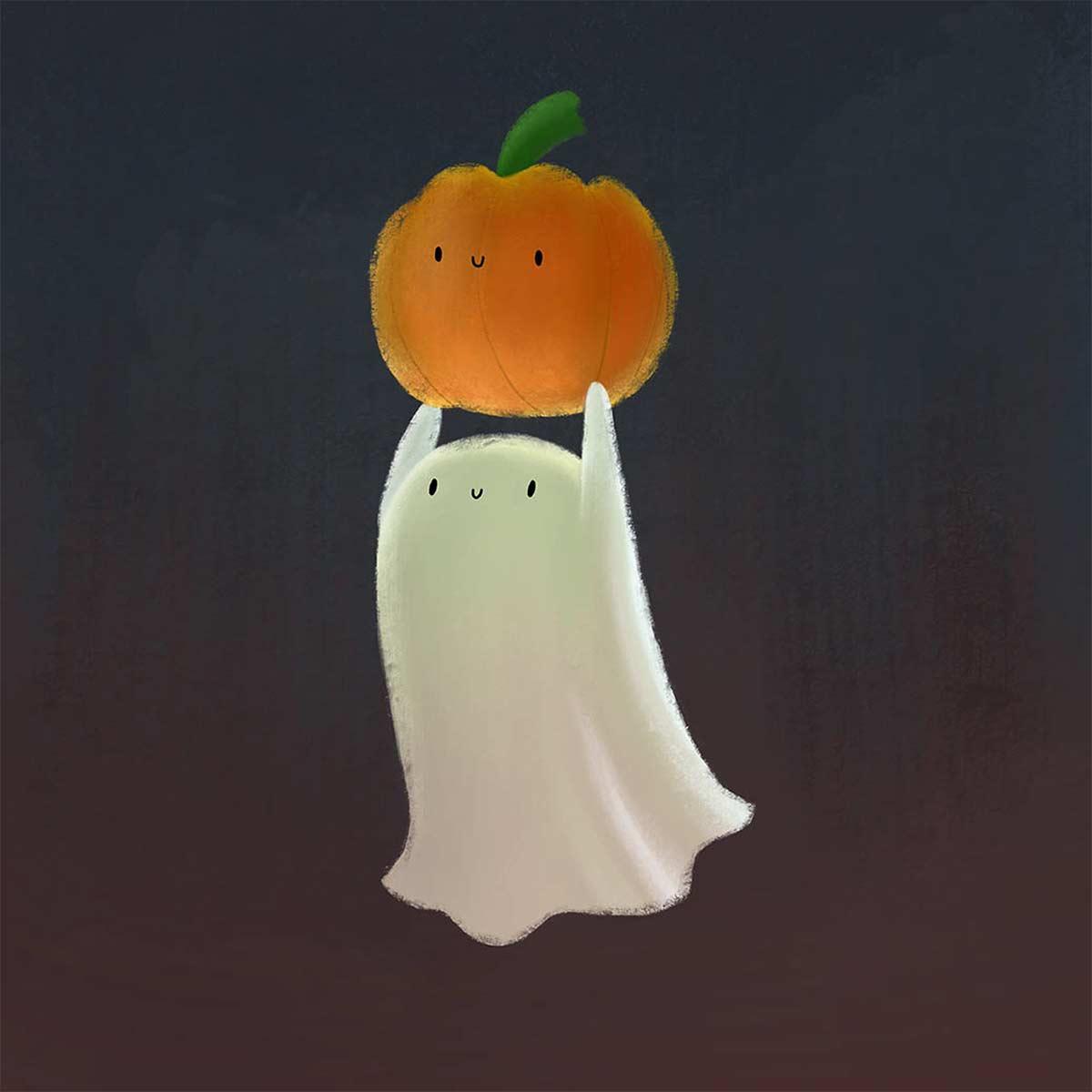 Sophie Kent Ghost Pumpkin