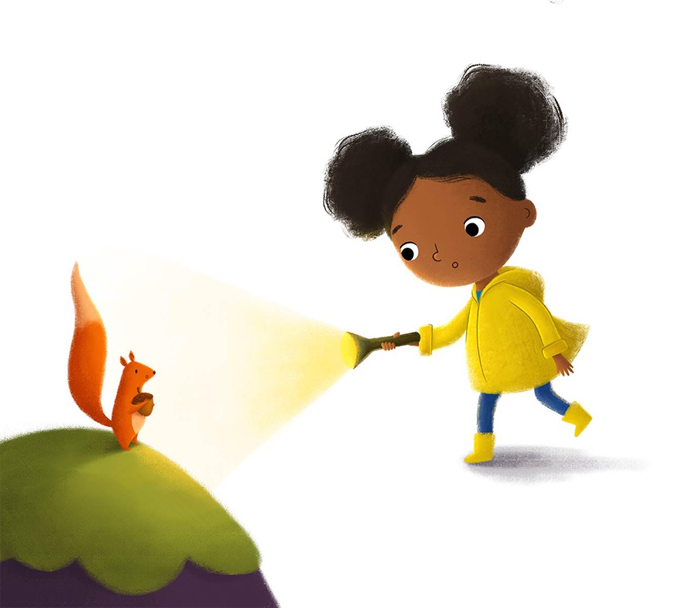 Yellow Coat Girl 4